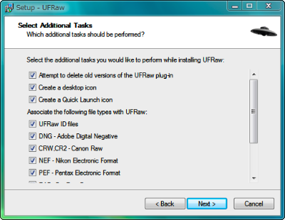 7 Select Additional Tasks