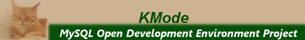 KMode:MySQL Open Develop Environment